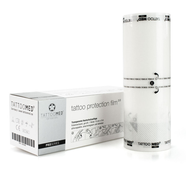 TattooMed® tattoo protection film - 2.0 ProSeries (15cm x 5m)